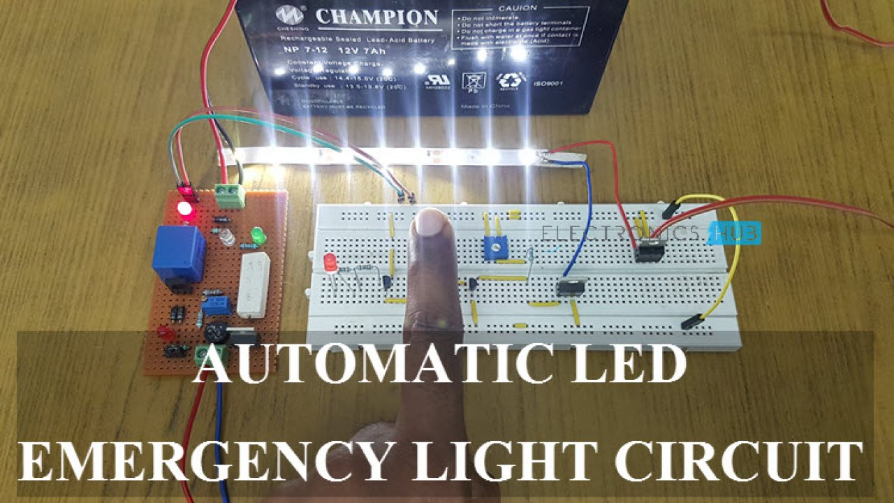 Energy Electricity Experiments Easy Led Circuit Project