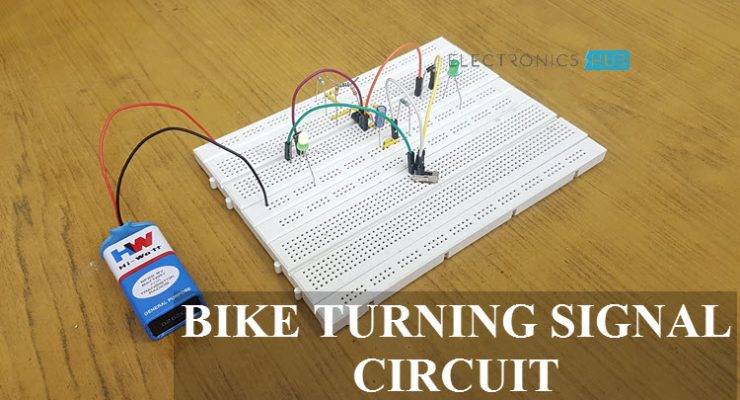 Bike Turning Signal Circuit Featured Image