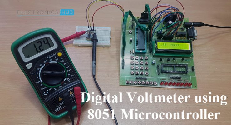 Digital Voltmeter using 8051 Microcontroller