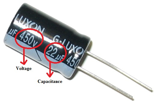 Standard Capacitor Color Codes Voltage Across Capacitor