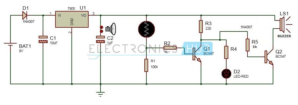 Pleasing Electronic Eye Controlled Security System Circuit Using Ldr Wiring Digital Resources Xeirawoestevosnl