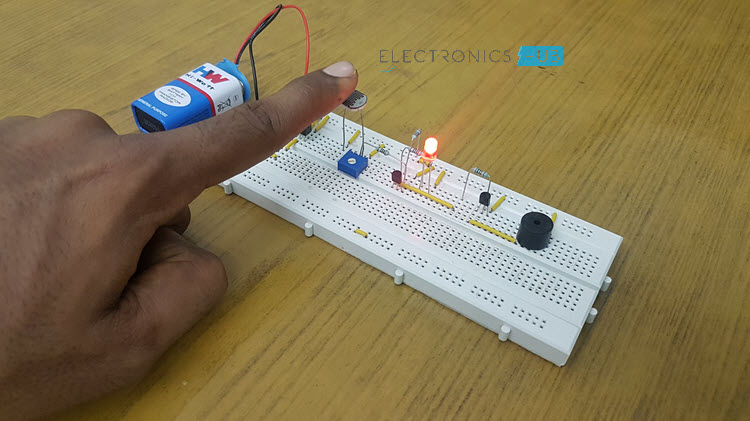 Electronic Eye Controlled Security System using LDR Image 2