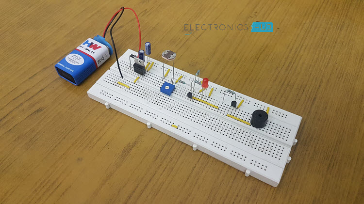 Electronic Eye Controlled Security System using LDR Image 4