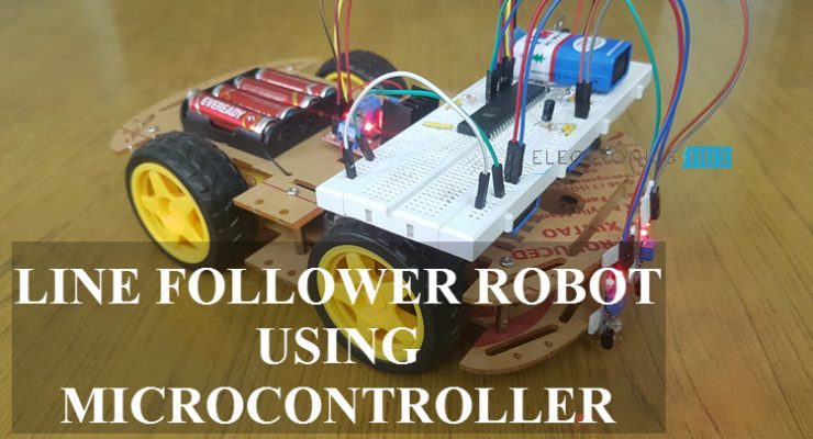 Line Follower Robot using Microcontroller Featured Image
