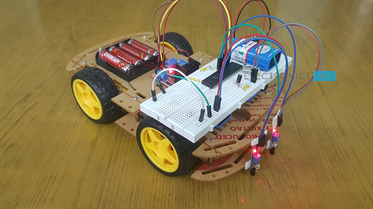 Line Follower Robot using Microcontroller Image 3
