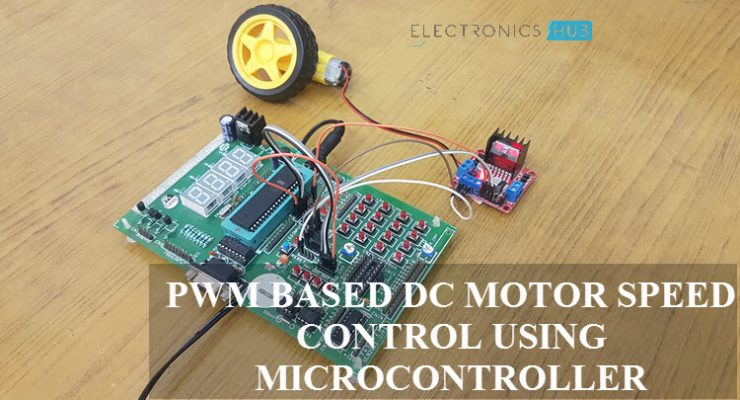 PWM Based DC Motor Speed Control using Microcontroller Featured Image