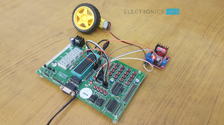 PWM Based DC Motor Speed Control using Microcontroller Image 2