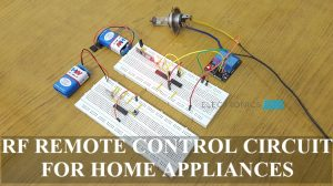 RF Remote Control Circuit for Home Appliances Featured Image