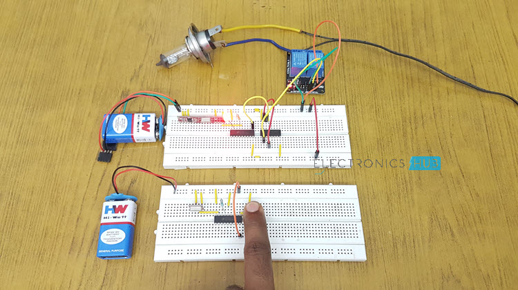 RF Remote Control Circuit for Home Appliances Image 1