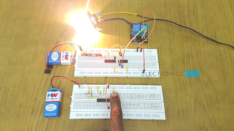 RF Remote Control Circuit for Home Appliances Image 2