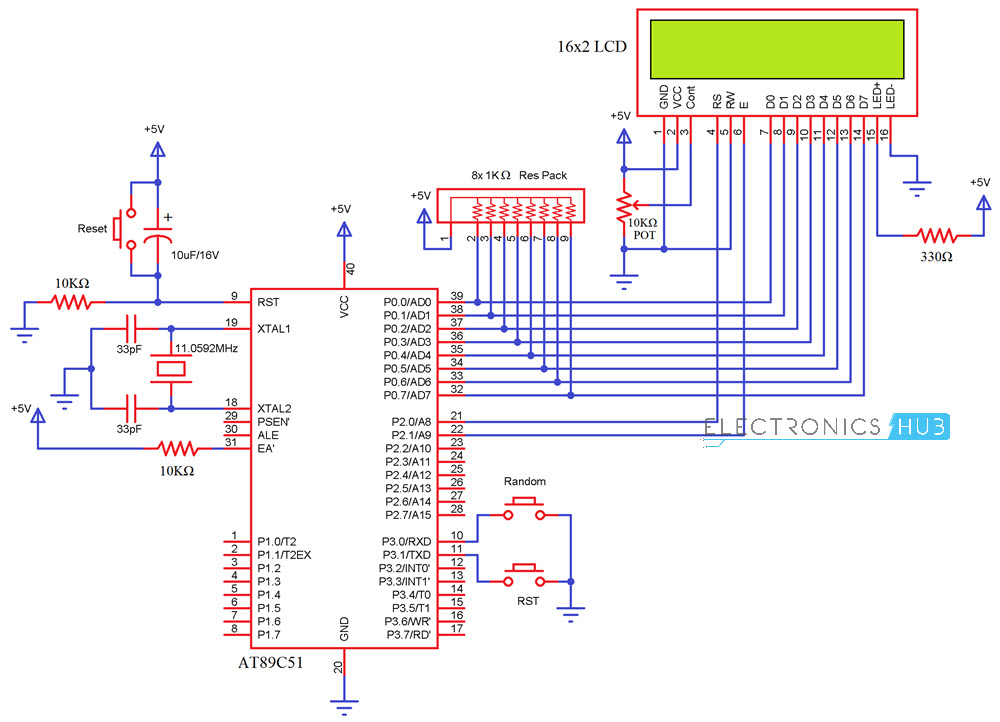 Random Number Generator using 8051 Microcontroller ...