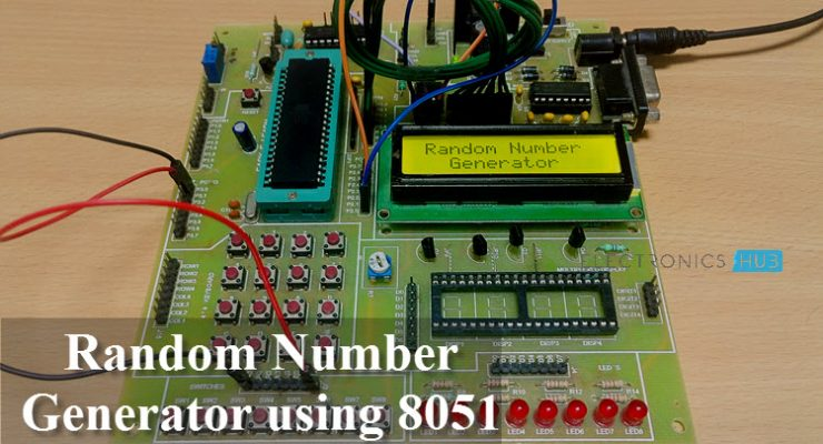 Random Number Generator using 8051 Featured Image