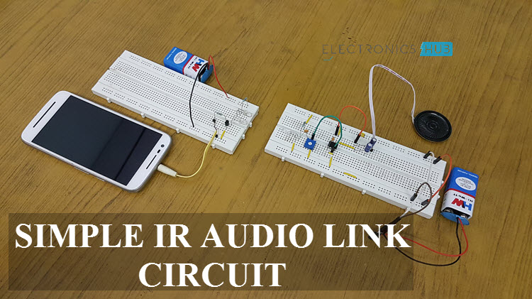 simple ir audio transmitter and receiver circuitSimple Ir Audio Transmitter And Receiver Circuit #12