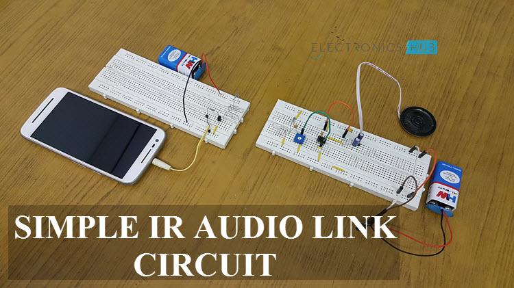 simple ir audio transmitter and receiver circuitSimple Ir Audio Link #6