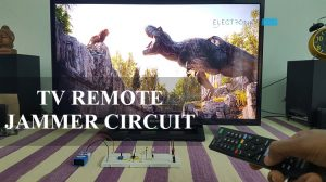TV Remote Jammer Circuit Featured Image