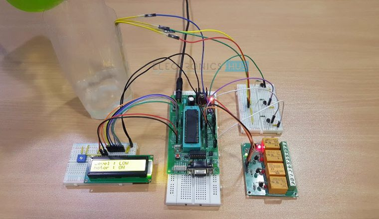 Water Level Controller using 8051 Microcontroller Image 5