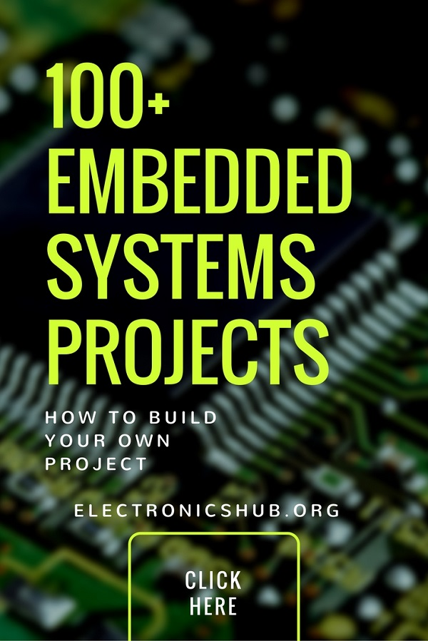 100+ Embedded Systems Projects for Engineering Students