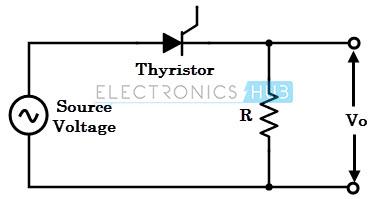 Single phase half-wave rectifier
