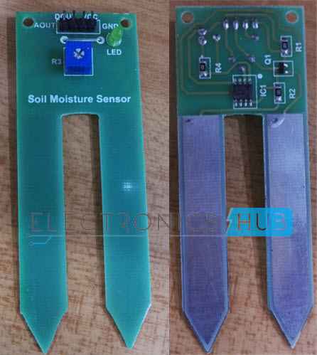 Auto Irrigation System using Soil Moisture Sensor and PIC
