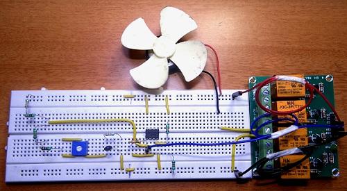Thermistor Based HVAC Thermostat