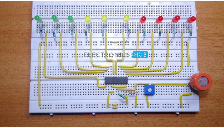 How To Make Alcohol Breathalyzer Circuit