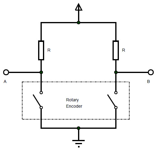 Rotary Encoder With Arduino - Know it all on thermocouple schematic, rotary potentiometer schematic, buzzer schematic, load cell schematic, plc schematic, pcb schematic, switch schematic, lvdt schematic, temperature controller schematic, push button schematic, rotary valve schematic, terminal block schematic, transducer schematic, rotary converter schematic, thermistor schematic, tachometer schematic, servo motor schematic, control schematic, rotary transformer schematic, programmable logic controller schematic,