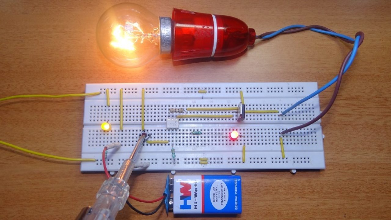 How To Make Solid State Relay? [DIY] A Solid State Relay Wiring on