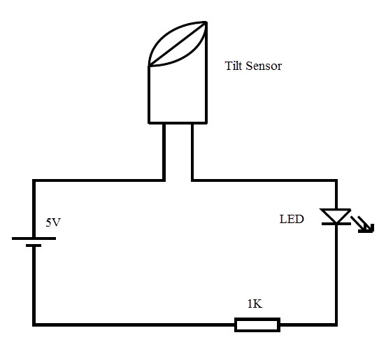 how to make a tilt sensor with arduino? 1996 Cavalier Ignition Wiring Diagram