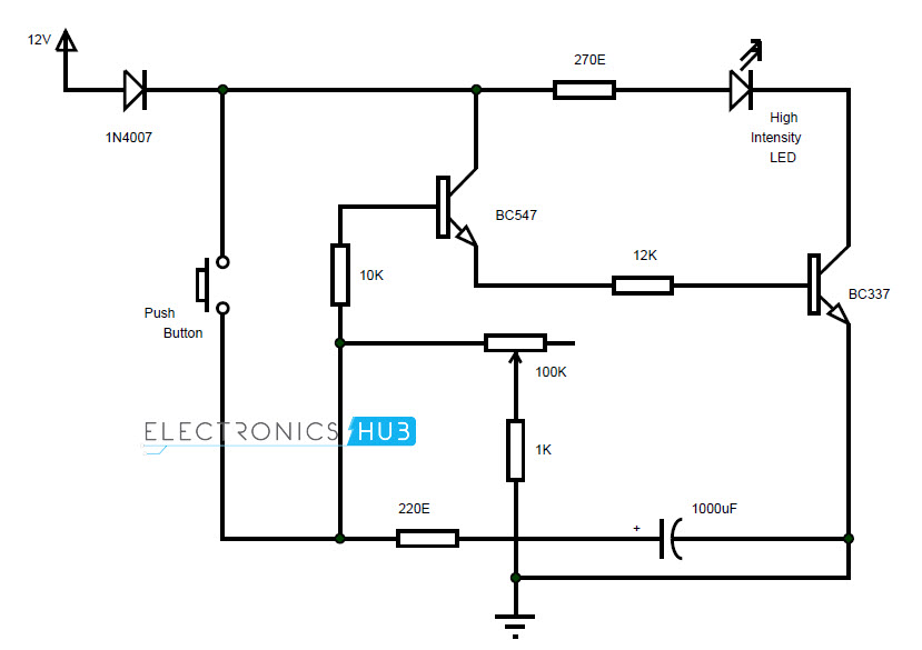Tested Simple Light Switch Timer Circuit In A Minute