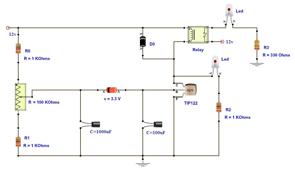time delay relay how to build time delay relay circuit how to wire a time delay relay diagrams at eliteediting.co