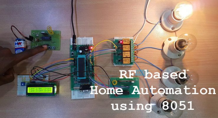 RF based Home Automation using 8051