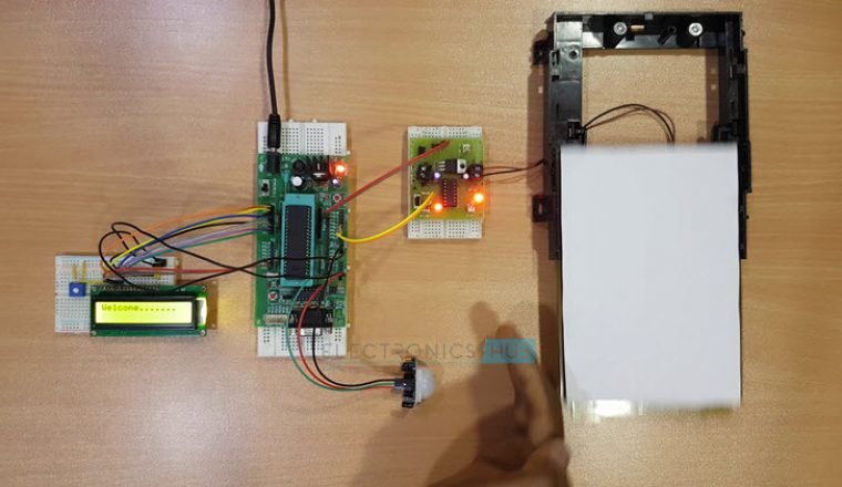 Automatic Door Opening System using 8051 Microcontroller