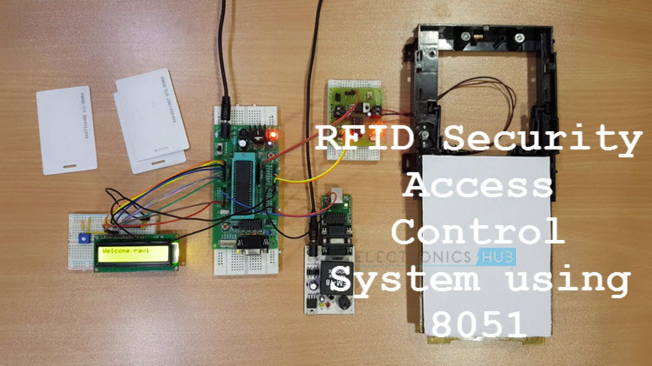 RFID Security Access Control System using 8051 Microcontroller
