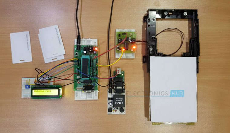RFID Security Access Control System using 8051 Image 5