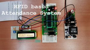 RFID based Attendance System Featured Image