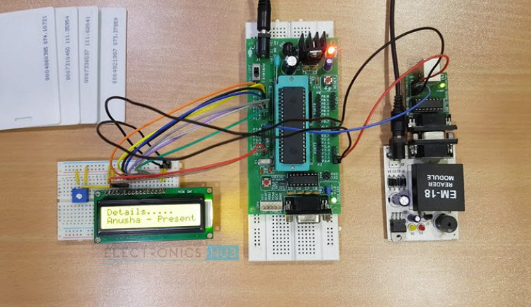 RFID based Attendance System Image 5