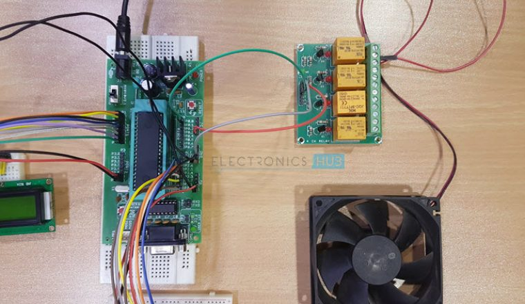 Temperature Controlled DC Fan Image 4