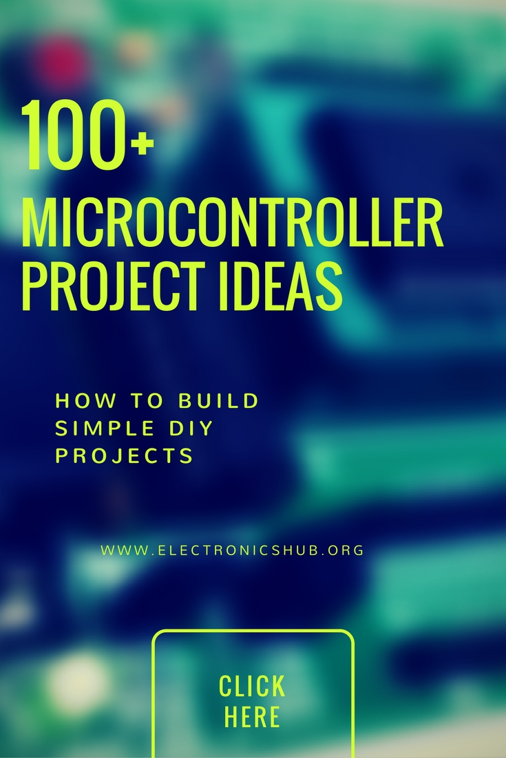 100 Microcontroller Based Mini Projects Ideas For Engineering Students Electronics And Communication Electronic Block Diagram Of List