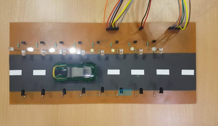 Street Light that Glows on Detecting Vehicle Movement Image 4