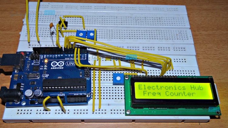 Frequency Counter Theory : Frequency counter using arduino