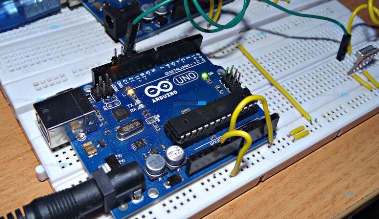Arduino and RF Transmitter Receiver Module