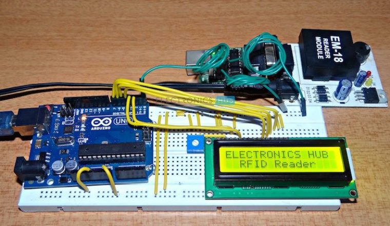 Arduino rfid reader