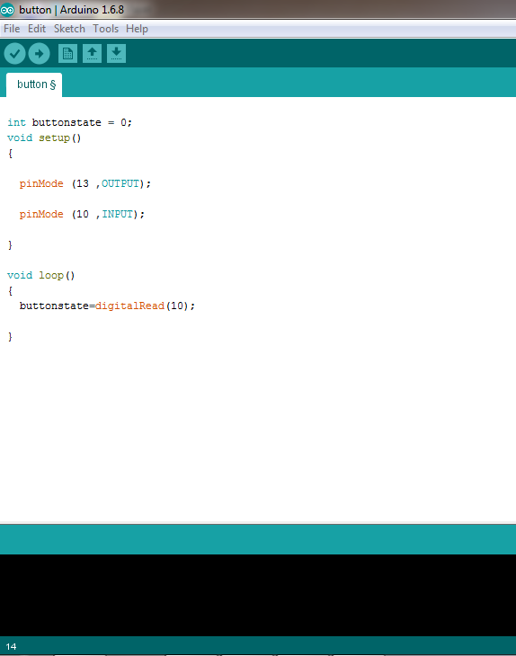 write code arduino