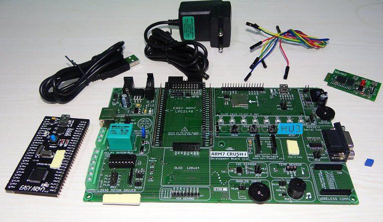 Interfacing Bluetooth with ARM7 LPC2148