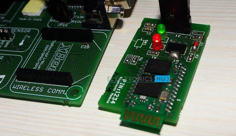 Interfacing Bluetooth With LPC2148 3