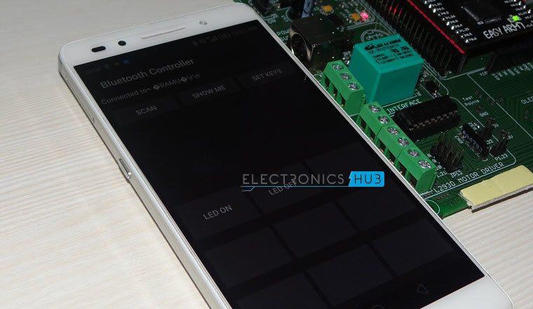 Interfacing Bluetooth With LPC2148 7