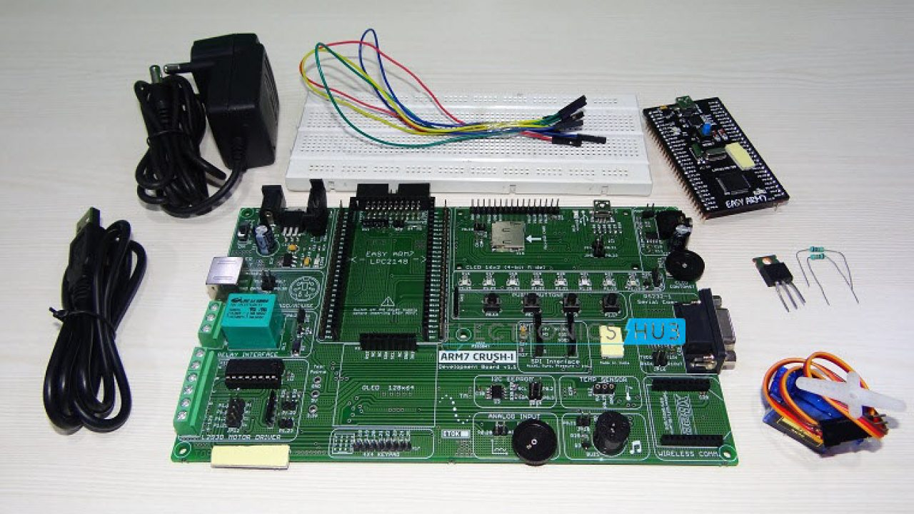 Interfacing a Servo Motor with ARM7 LPC2148