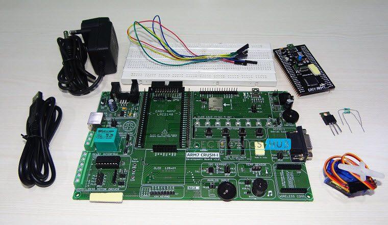 Interfacing a Servo Motor with ARM7 LPC2148-1