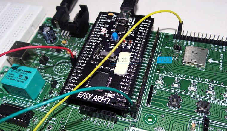 Speed Control of DC Motor using ARM7 LPC2148- 6