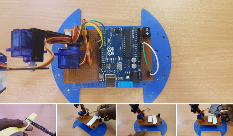 how to build a simple robotic arm